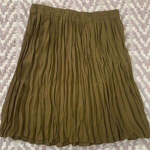 🌸Brown Sheer Midi Skirt size Large
